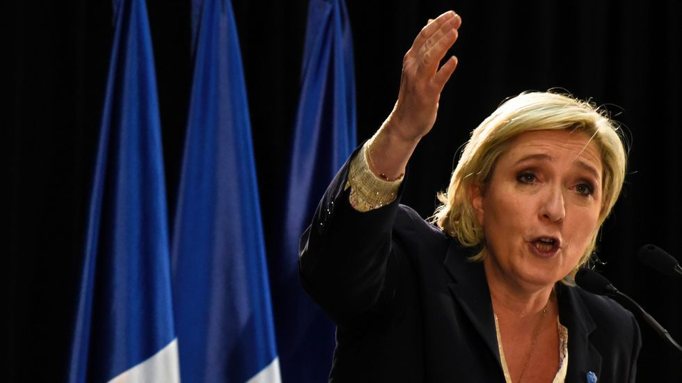 FILLONH.Marine Le Pen