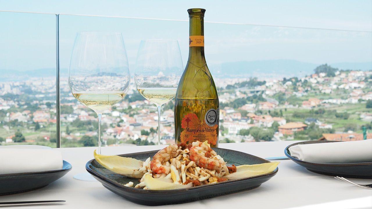 La ensalada que propone Asador Soriano, basada en productos del mar