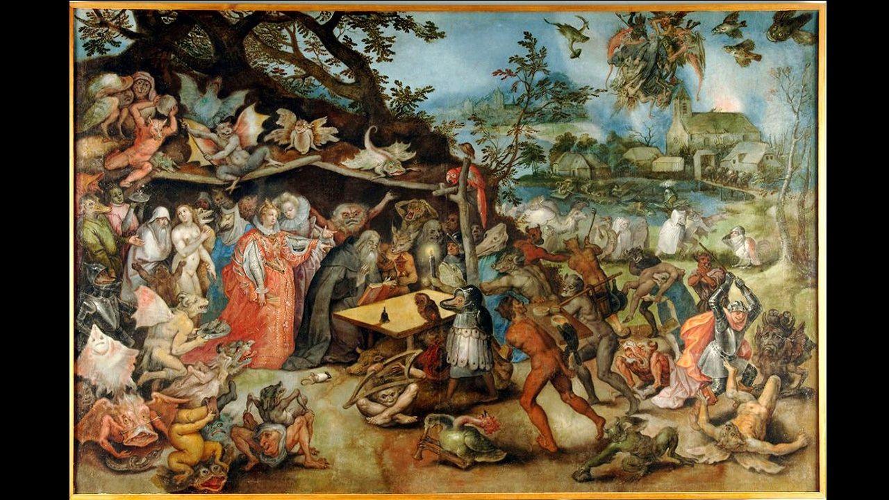 «El diablo, tal vez», de Brueghel, es el título de la exposición que acoge este cuatrimestre el museo de Bellas Artes de Asturias