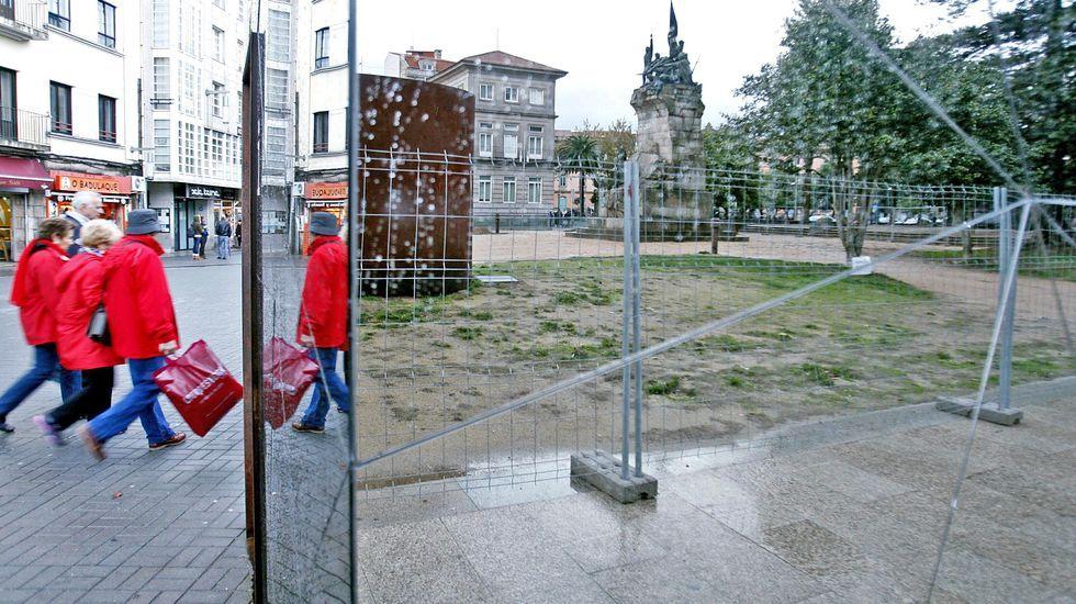 Las imágenes del ejercicio «Eagle Eye» en Ferrol.Puesto de tiro de la Unidad de Defensa Antiaérea ubicado en Monteventoso