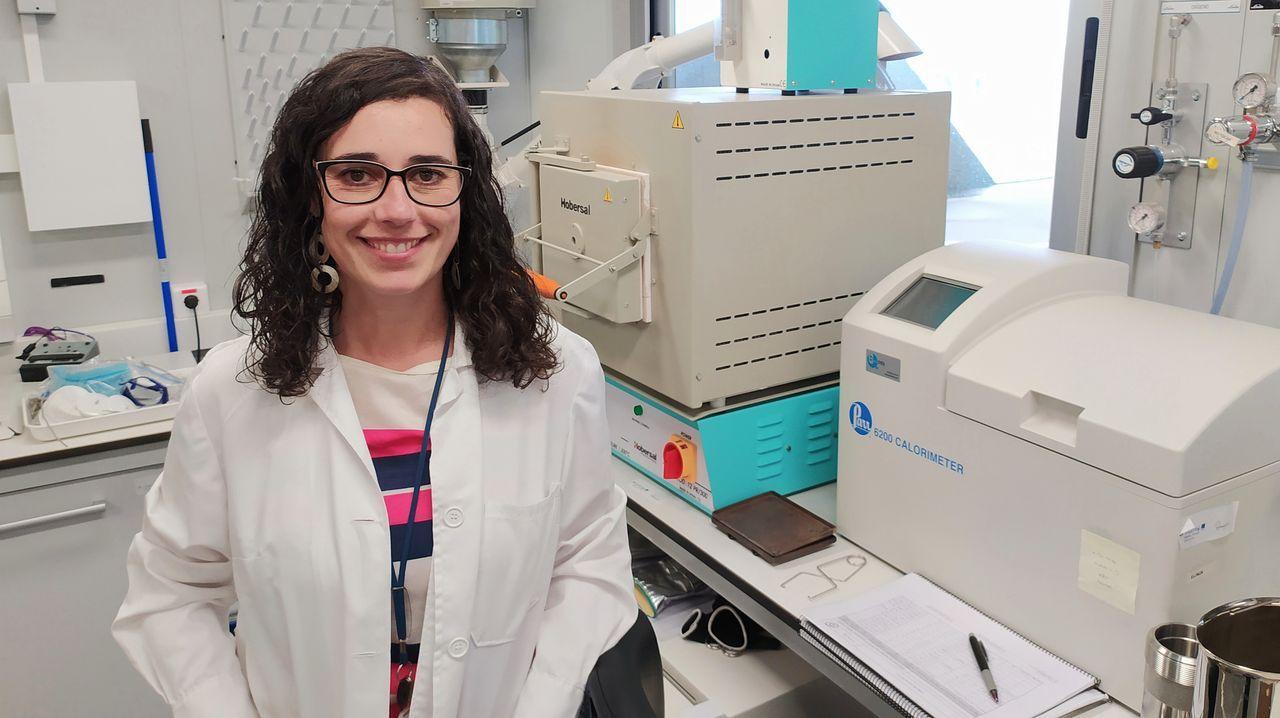 Leticia Pérez, responsable del proyecto transfronterizo sobre biomasa
