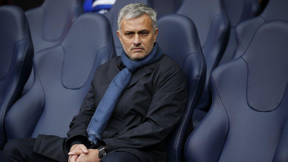 El enfado de Diego Costa con Mourinho