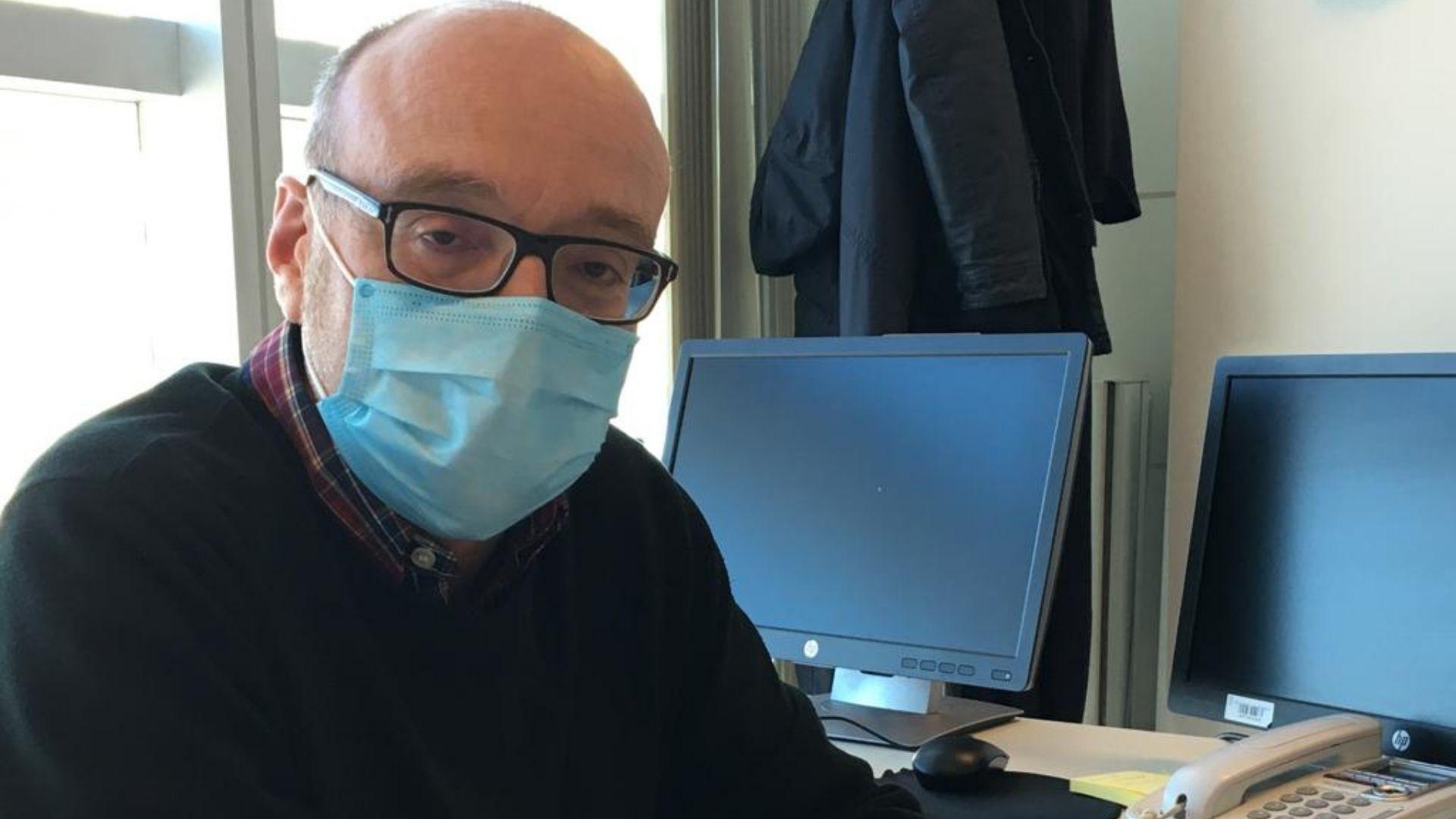 Miguel Ángel Prieto, jefe de Alertas y Emergencias Sanitarias Covid-19