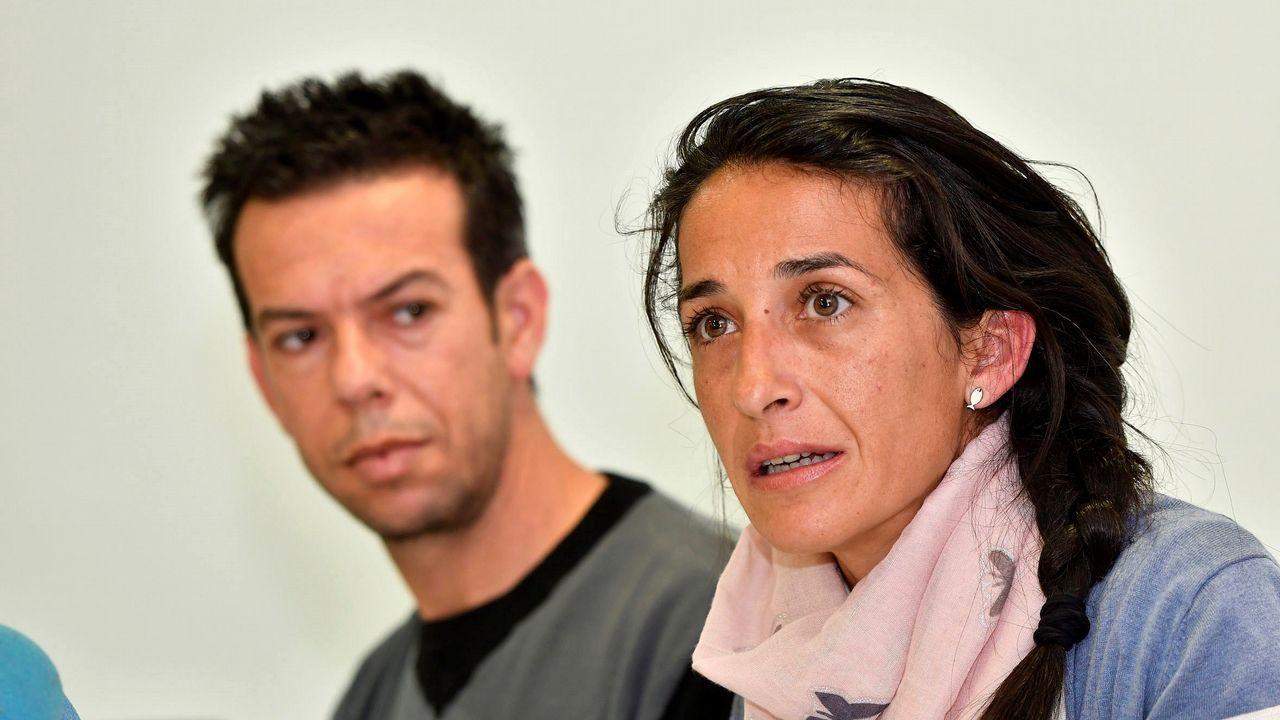 Los padres de Gabriel: «La Justicia hará posible que Ana Julia no vuelva a hacer daño».Toché cabecea antes de que Diegui marque el 0-1 en Lugo
