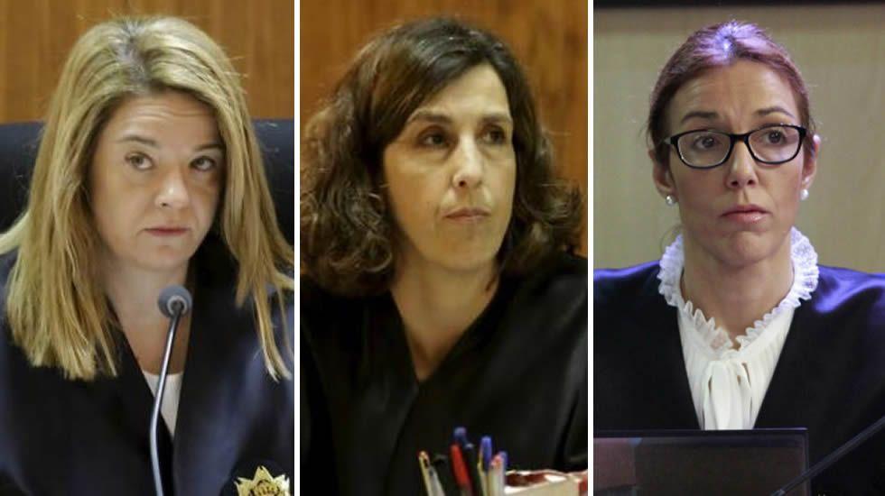 Samantha Romero, Eleonor Moyá y Rocío Martín