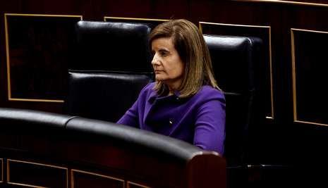 El PSOE ha pedido la comparecencia en el Congreso de la ministra de Empleo, Fátima Báñez.