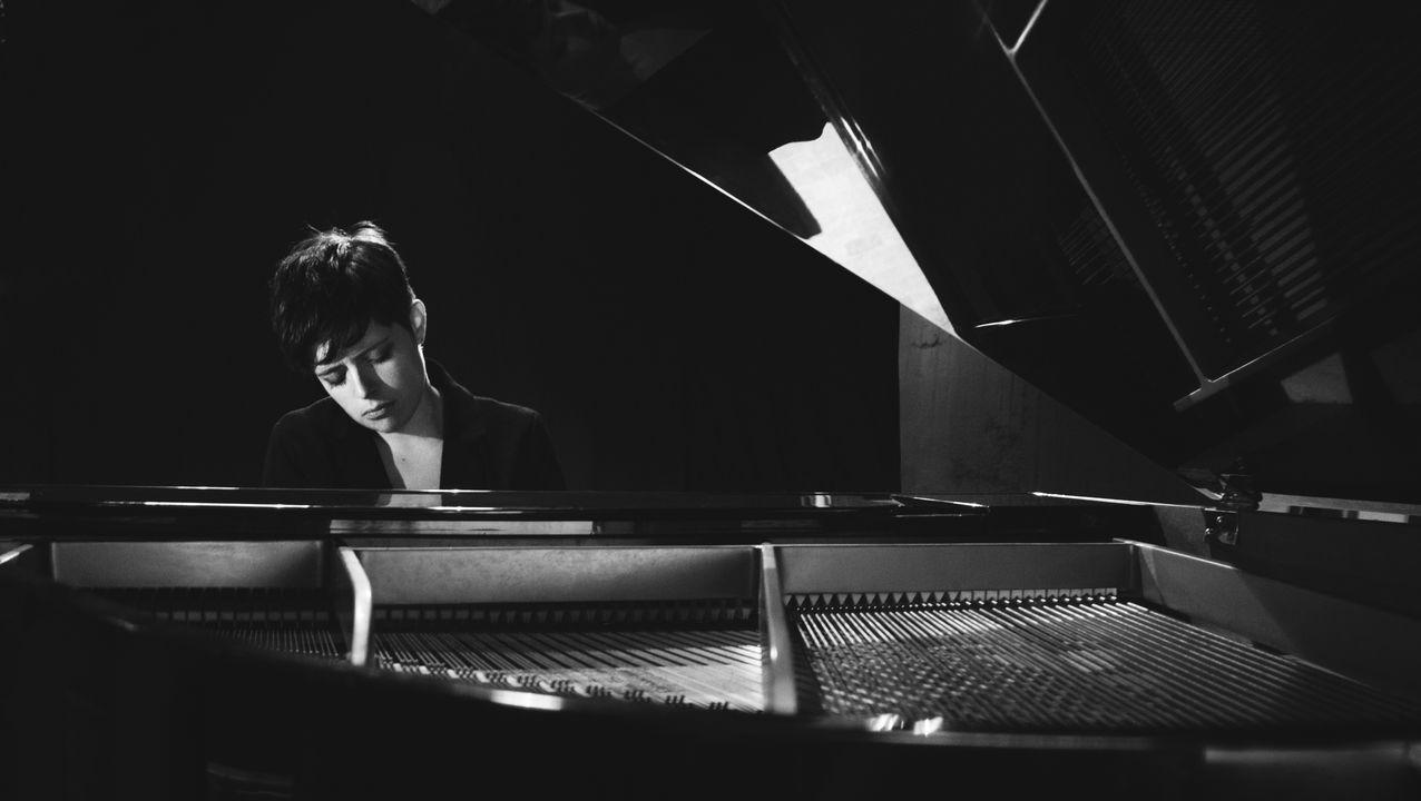 La compositora ribadense Carme Rodríguez