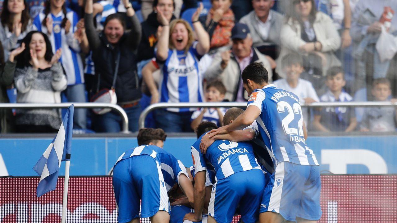 Aficion Real Oviedo Lugo.López Garai, en su presentación como técnico del Numancia