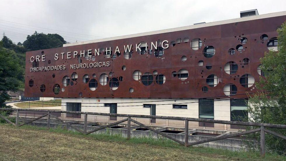 El Centro de Discapacitados Stephen Hawking, en Langreo.El Centro de Discapacitados Stephen Hawking, en Langreo