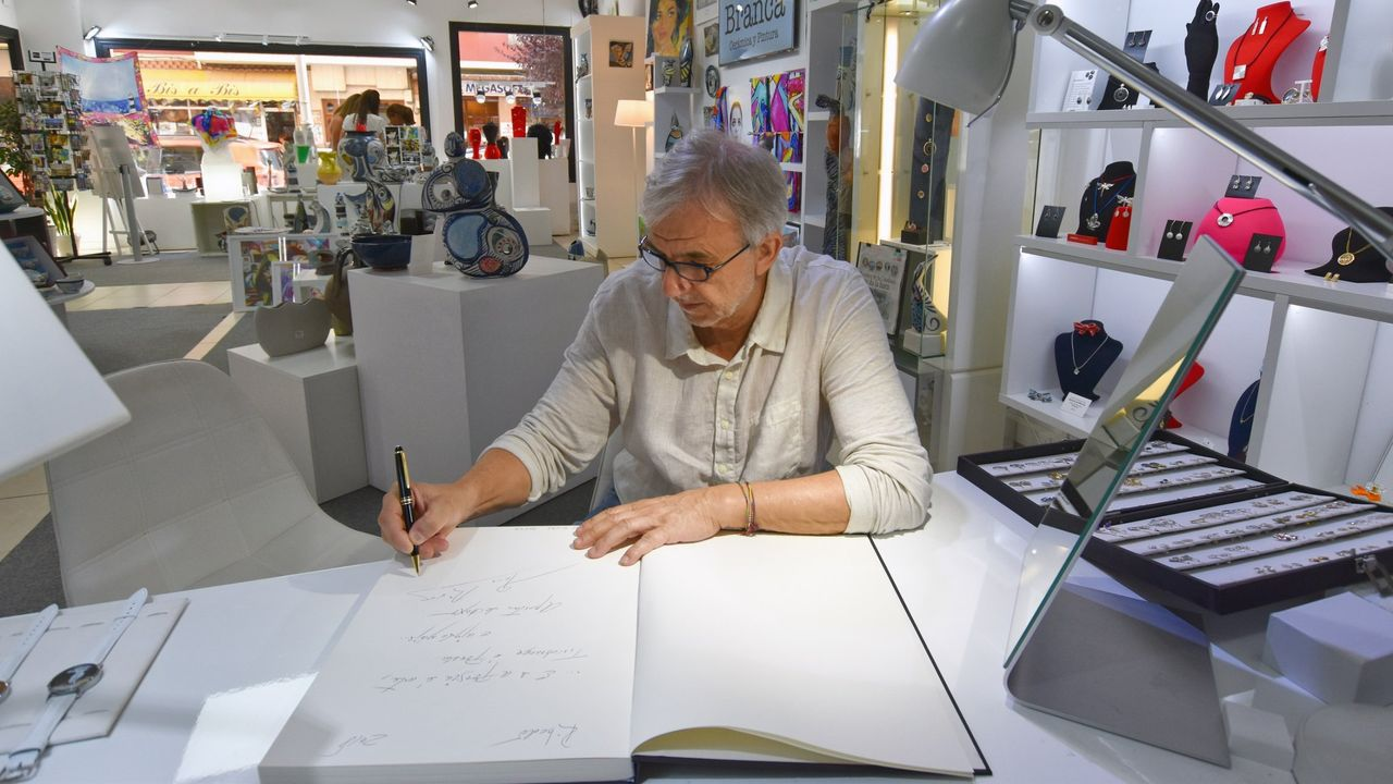 Benito Vizoso Vila, actual administrador del grupo Andrés Vizoso, el hijo menor de Andrés Vizoso Calvo