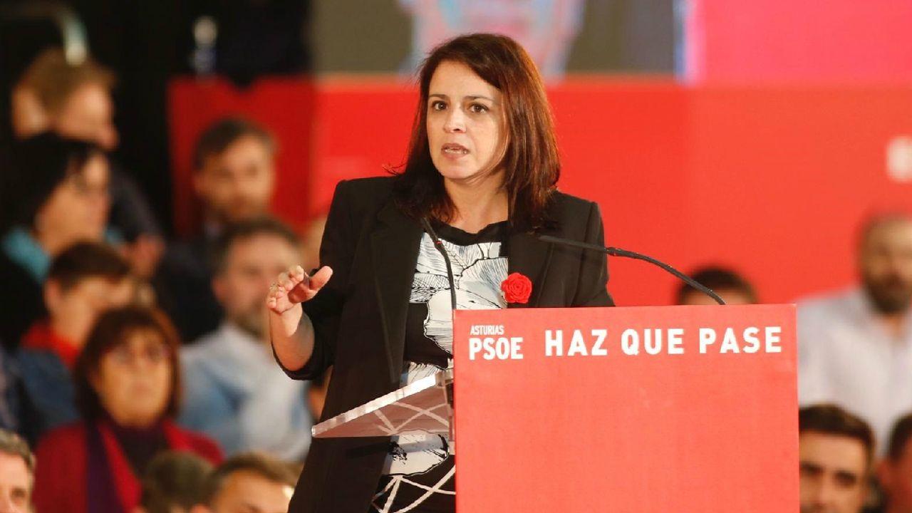 Asturias se reivindica en Fitur.Adriana Lastra