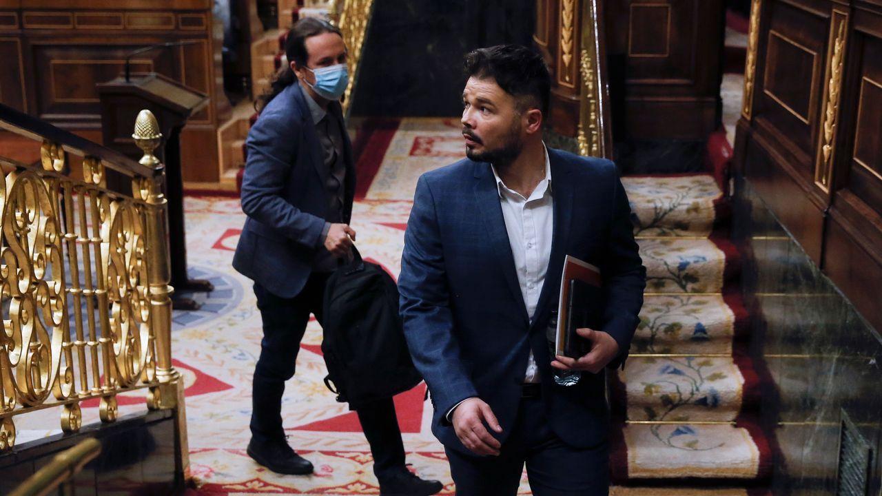 Calviño rechaza la derogación de la reforma laboral por «absurdo y contraproducente».García-Page es uno de los presidentes socialistas críticos con la gestión del Gobierno en la desescalada