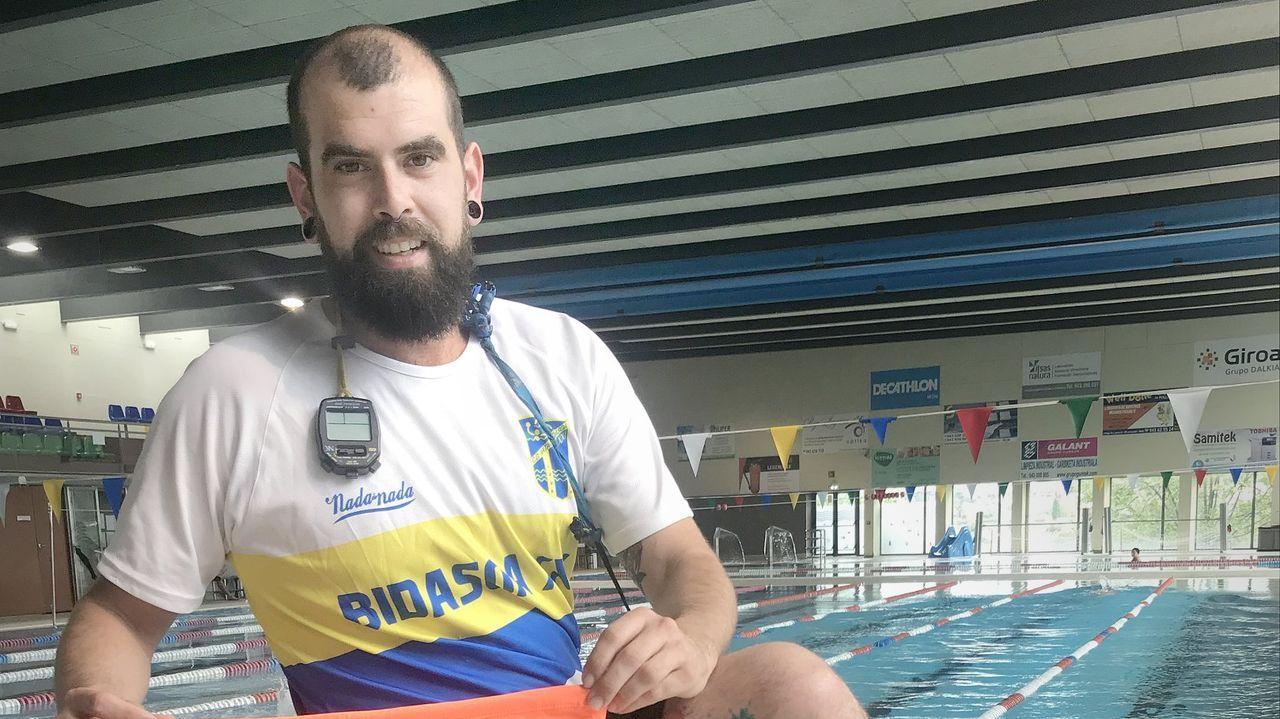 Rufino Noguerira, natacion
