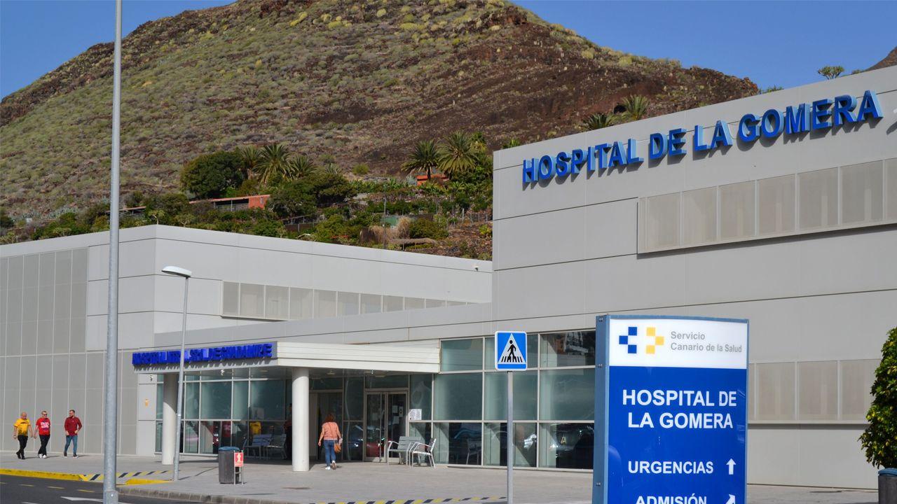 botiquines farmacia Asturias Laviana.Edificio del Hospital de La Gomera donde se encuentran aislados los turistas alemanes, uno de los cuales está infectado por el coronavirus