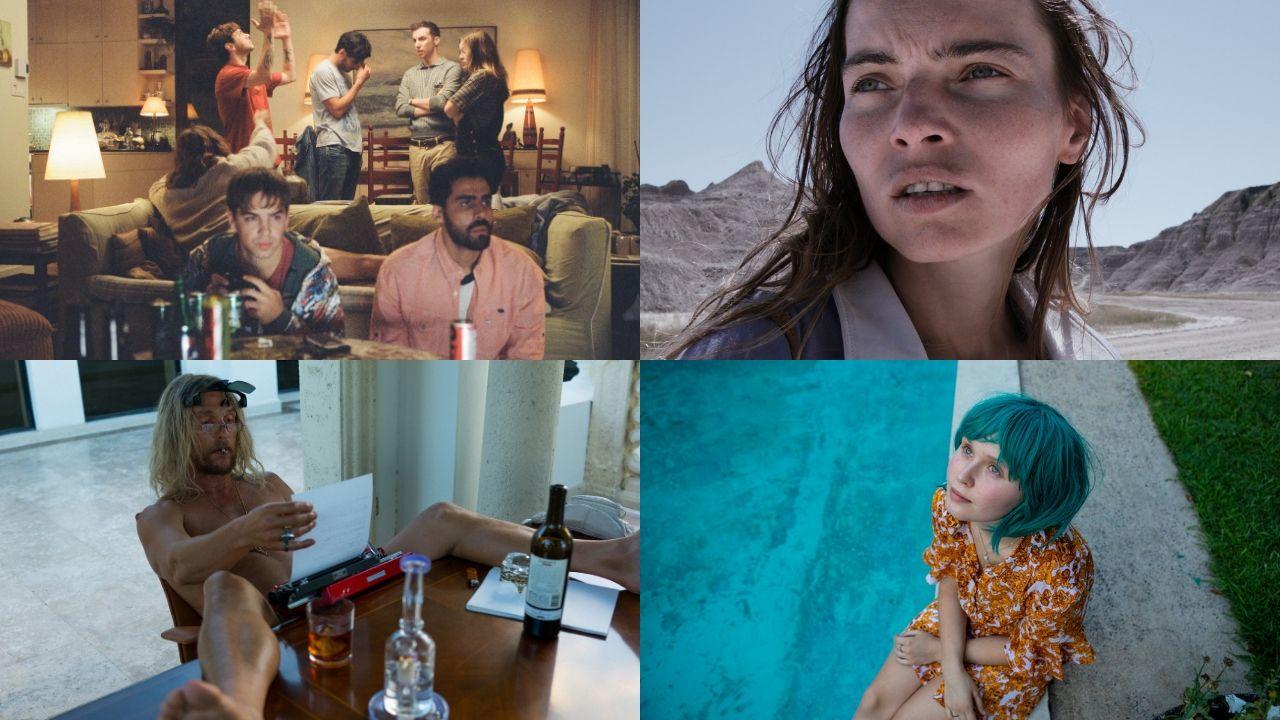 Fotogramas de algunas de las películas que participarán en la sección oficial del FICX