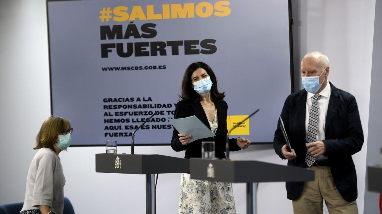 Asturias, Oviedo .Presentación del estudio de seroprevalencia
