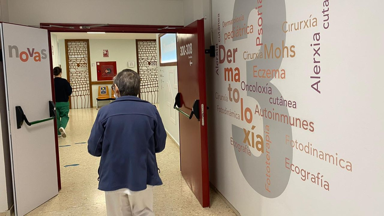 Humanización del área de consultas externas del servicio de dermatología de la Casa do Mar de Mollavao, en Pontevedra
