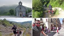 La belleza y la dureza del Camino reciben a los aventureros en Roncesvalles