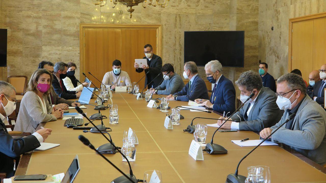 ¿Qué pasaba dentro de la orden de los Miguelianos de Oia?.Primera reunión de la mesa de trabajo sobre el futuro de Ence, celebrada en Madrid