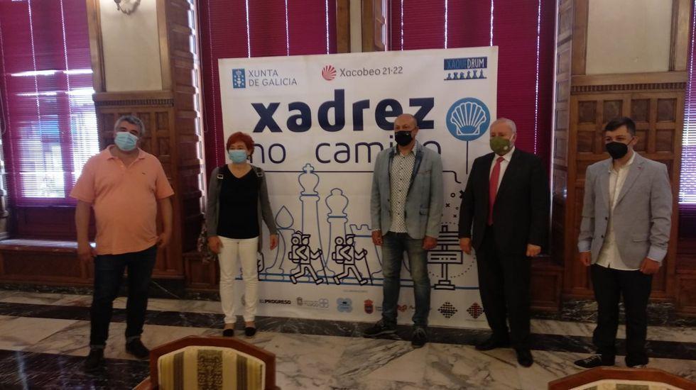 Presentación en el Círculo del programa «Xadrez no Camiño»