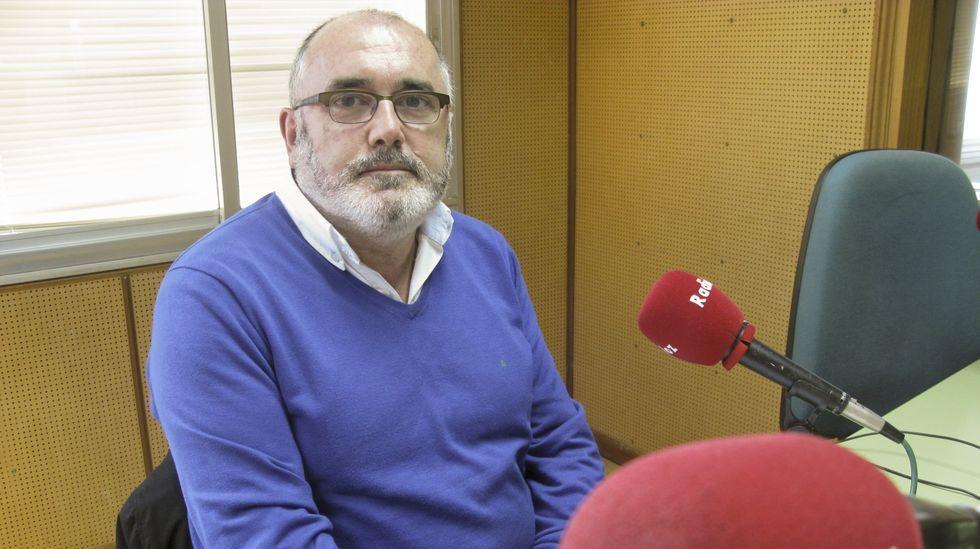Xosé Manuel Pose, portavoz del BNG de Laxe, en una imagen de archivo