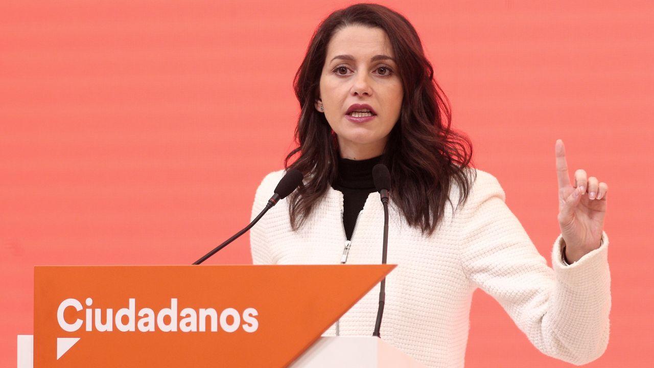 Inés Arrimadas, portavoz de Ciudadanos en el Congreso