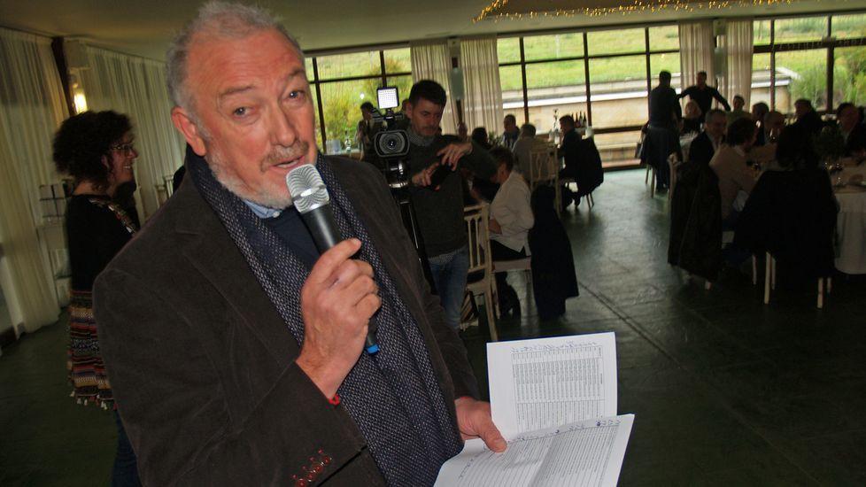 El presidente del consejo regulador, José Manuel Rodriguez, durante su intervención