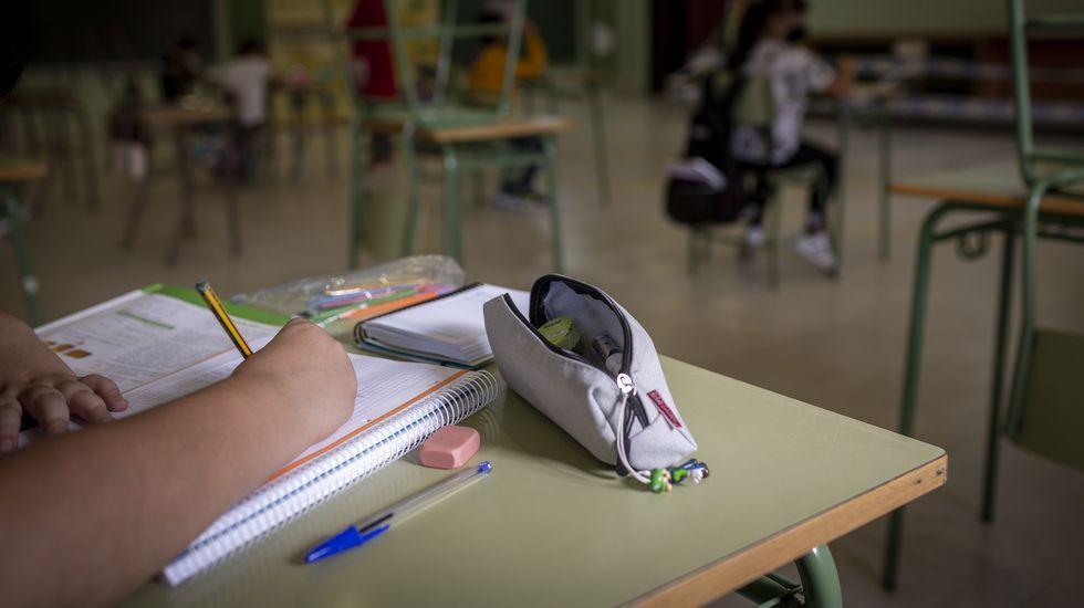 En los colegios de la provincia de Ourense hay 19 casos activos de coronavirus