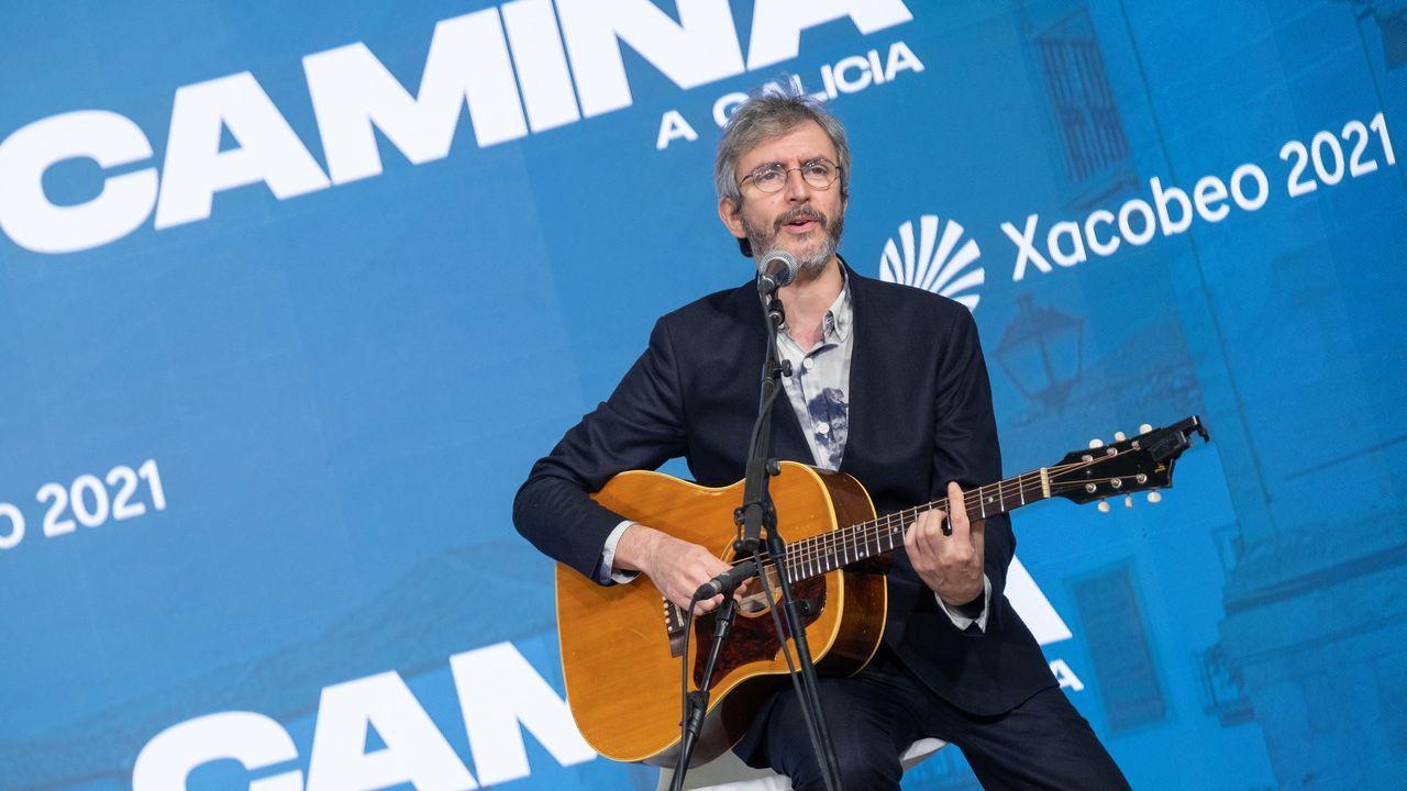 En directo, Feijoo tras el Consello de la Xunta.Xoel López actuó en la presentación de la campaña turística de Galicia