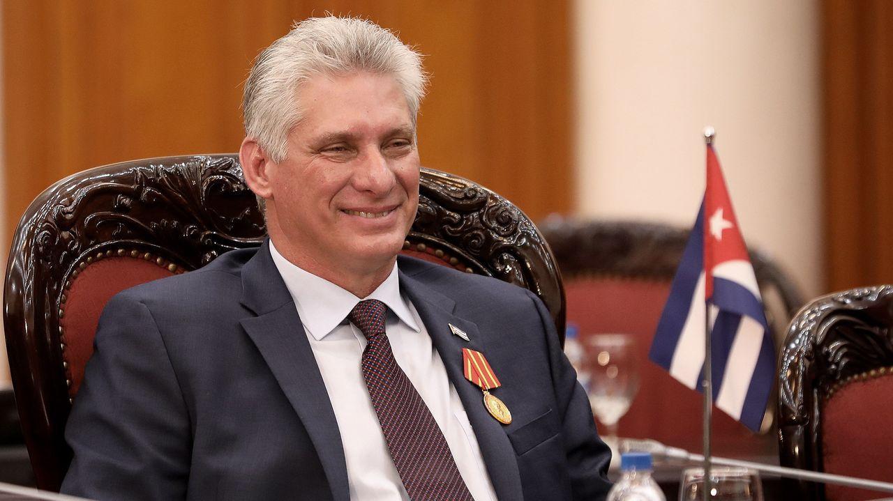 Miguel Díaz-Canel, presidente de Cuba y secretario general de PCC