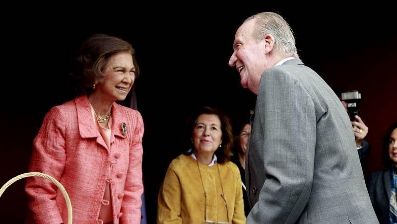 Juan Carlos I y Sofía se reencuentran
