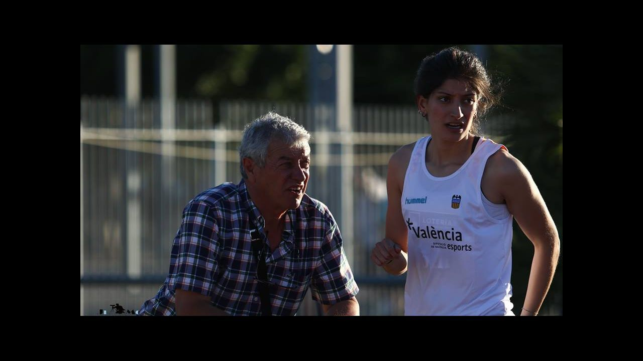 Anxo Blanco, oro en triple salto