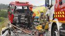 Imagen de archivo de un accidente de tráfico mortal ocurrido en Vilanova