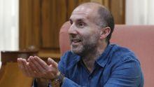 Gonzalo Pérez Jácome, durante la entrevista