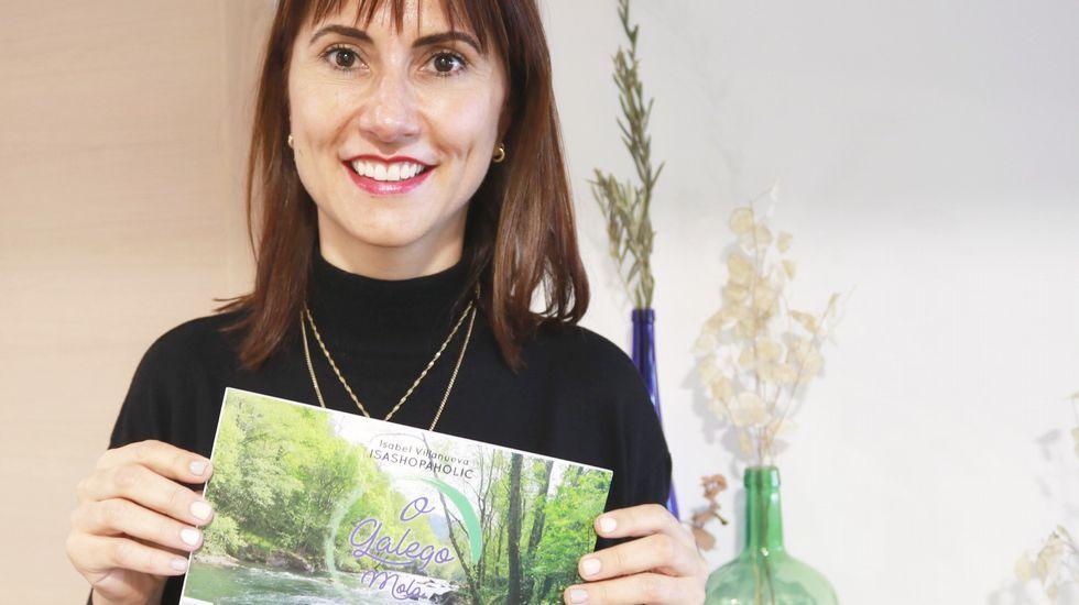 Malamente de Rosalía.La escritora asturiana Susana Pérez-Alonso presenta su nueva novela «Nada te espante»