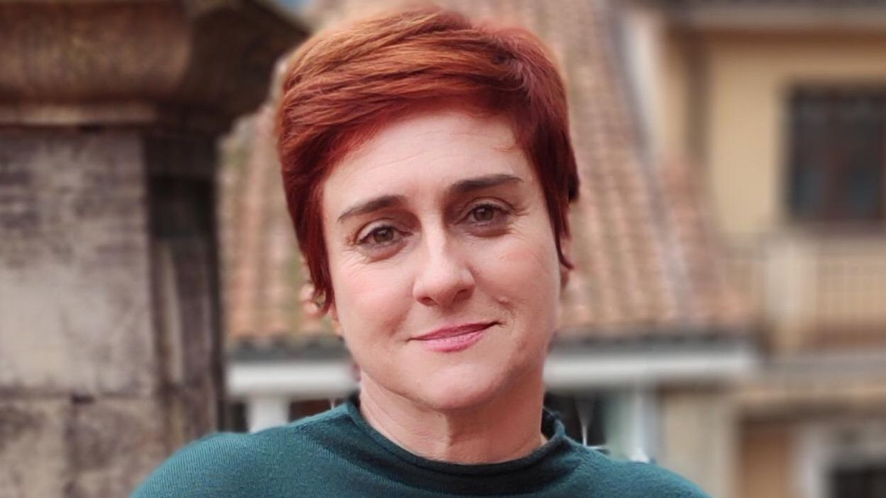 La candidata de Ciudadanos a la Alcaldía de Avilés, Carmen Pérez Soberón