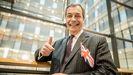 Nigel Farage, en una foto de archivo de enero del 2020