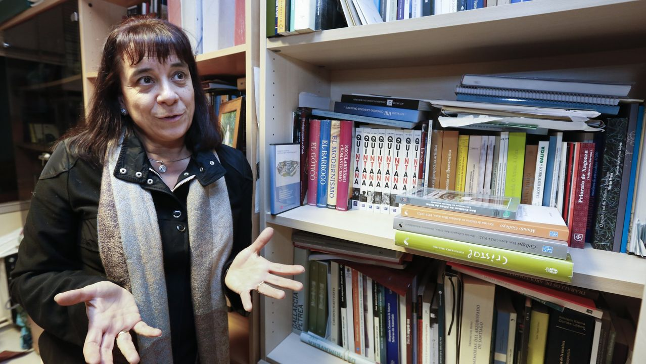 La catedrática de Historia da Arte y responsable de Icomos en Galicia, Ana Goy