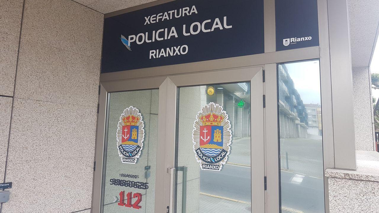 El atropello se produjo en la avenida de Castelao, en la subida antes de llegar a la rotonda de San Caetano
