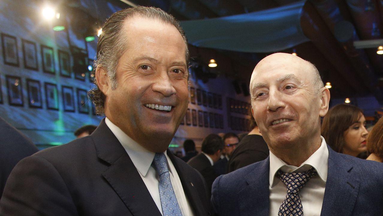 Juan Carlos Escotet, presidente de Abanca, Junto a Manuel Gómez-Franqueira, presidente y consejero delegado de Coren