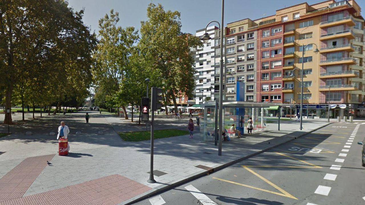 Infografía con la reforma integral del hospital de Cabueñes, en Gijón.Calle Jardines (Avilés)