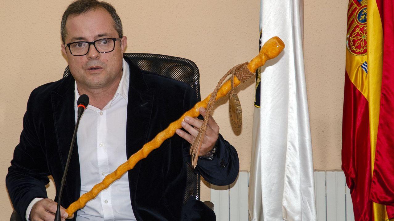 José Luis Maceda (BNG), encara su tercer mandato en A Pobra do Brollón