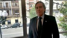 Alberto López-Asenjo, en la sede del PP gijonés