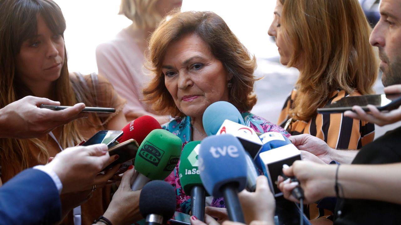 Carmen Calvo en una imagen de archivo
