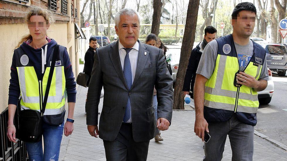 Los responsables de Manos Limpias y Ausbanc detenidos.Luis Pineda, presidente de Ausbanc.