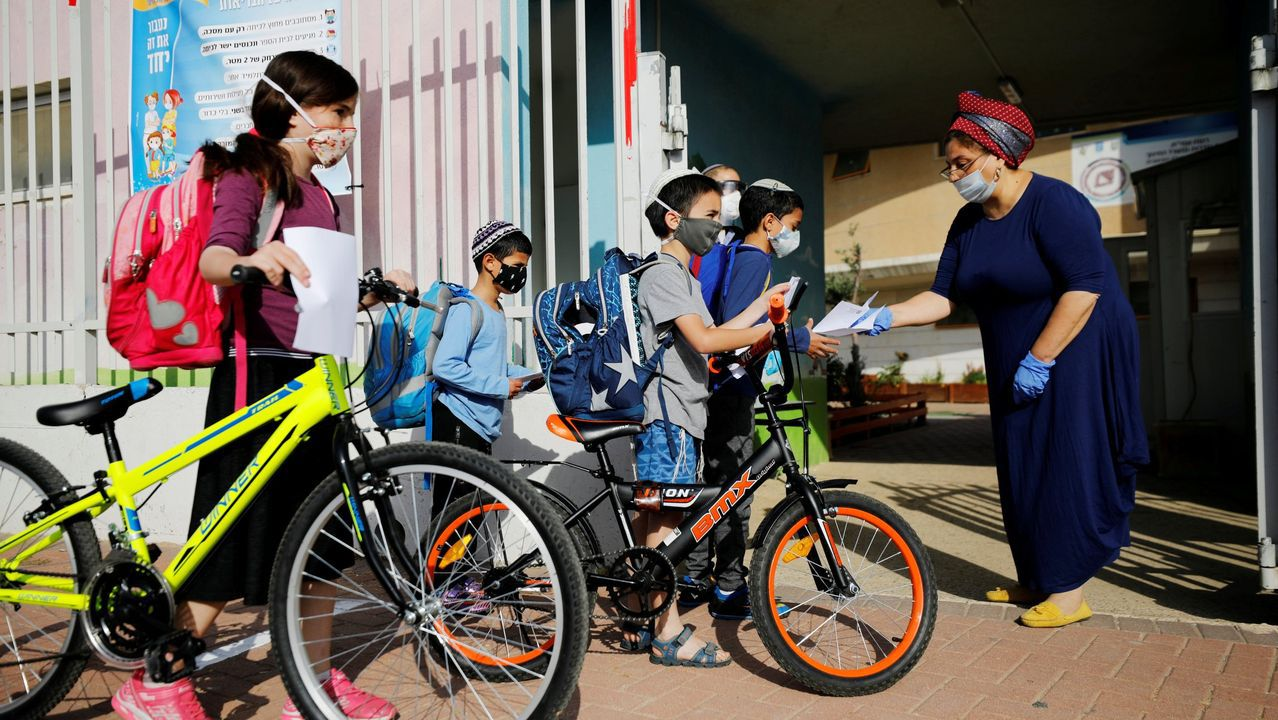 Muchos colegios israelíes reabrieron a lo largo del mes de mayo