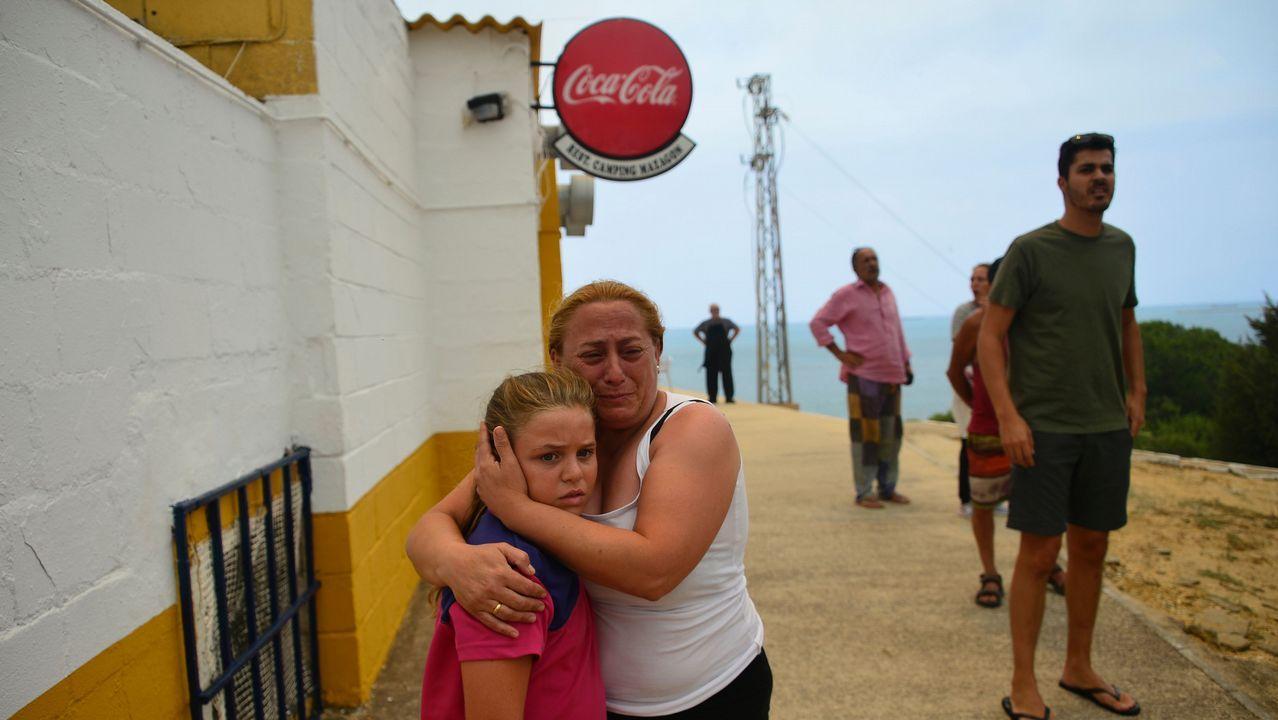 Todas las imágenes del incendio de Doñana