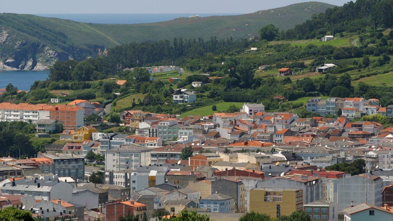 Vista de Cedeira en una imagen de archivo
