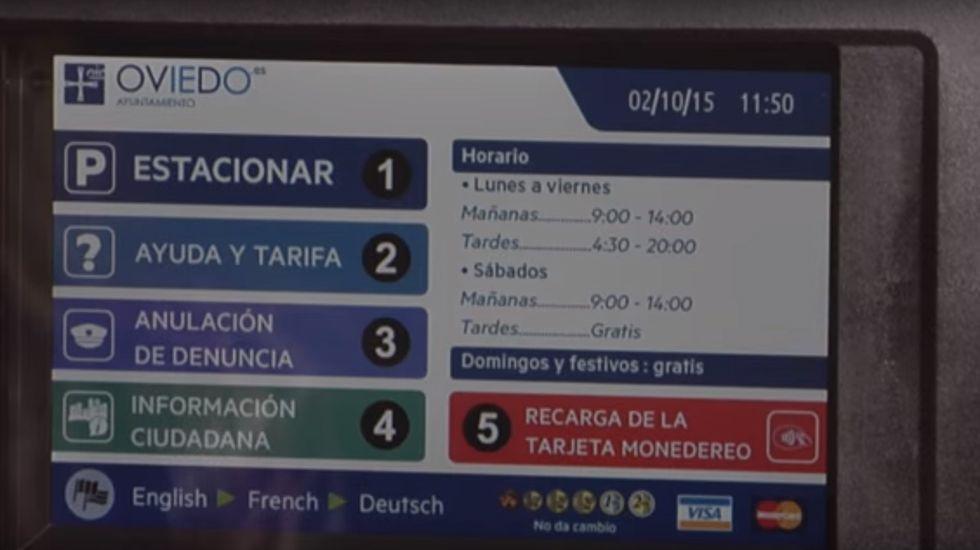 Parquímetro de Oviedo