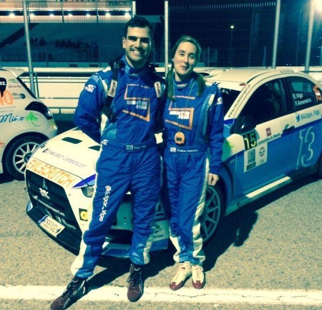 Piloto y copiloto fenés participarán en el Rali de Ferrol.